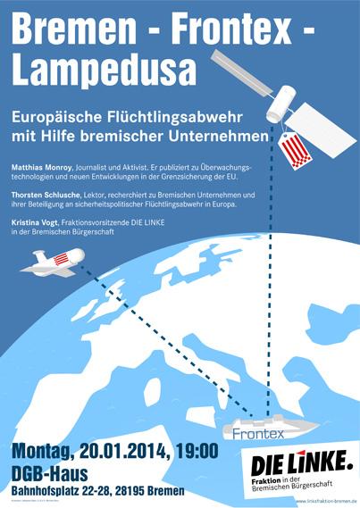 Bremen – Frontex – Lampedusa