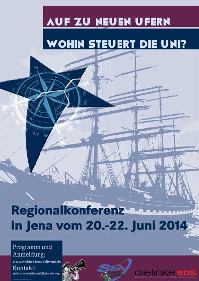 Auf zu neuen Ufern – wohin steuert die Uni? Regionalkonferenz