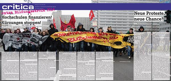 critica extra – Bildungsstreik 2014