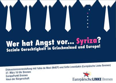 Wer hat Angst vor Syriza?