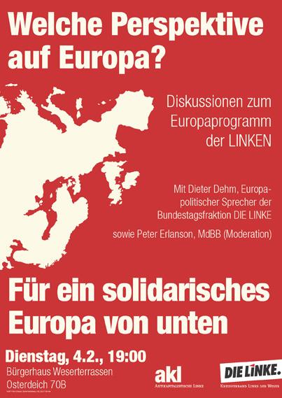 Welche Perspektive auf Europa?