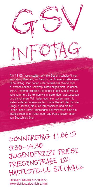 Infotag der Gesamtschüler_innenvertretung Bremen