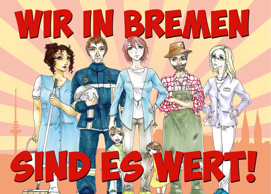 Wir in Bremen sind es Wert!