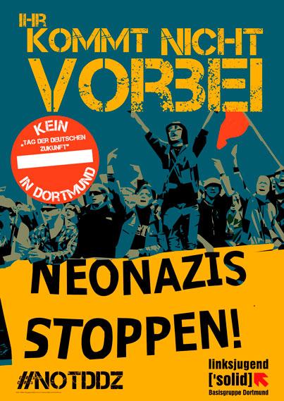 """Gegen den """"Tag der deutschen Zukunft"""" in Dortmund"""