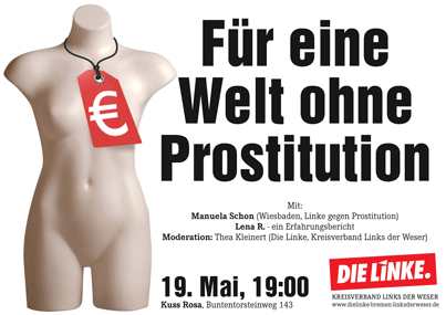 Für eine Welt ohne Prostitution