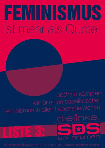 SDS Uni Bremen AStA-Wahlkampf