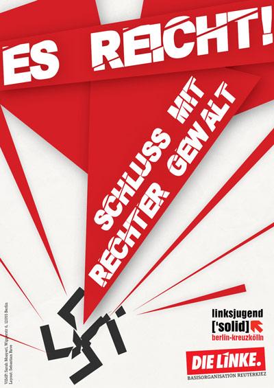 Kampagne gegen rechte Gewalt in Berlin-Neukölln